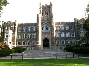 My alma mater, Fordham University.
